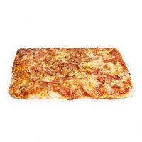 Porción pizza jamón y queso