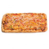 Porción pizza pollo chedar