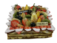 Tarta Milhojas de crema pastelera 6 raciones